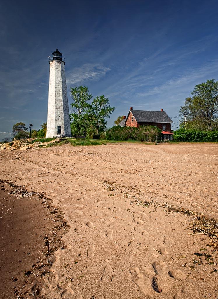 Five   Mile Point Light, New Haven, Connecticut