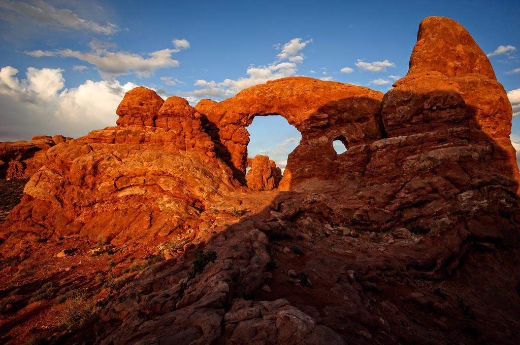 Turret Arch, Arches National Park, Moab, Utah