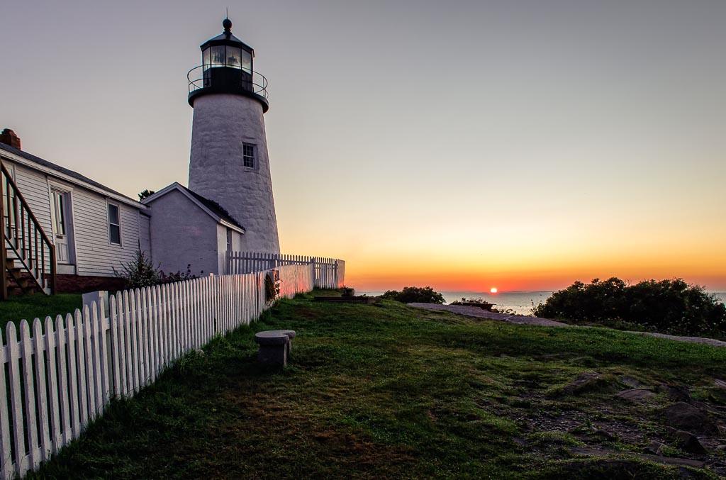Pemaquid  Point Lighthouse,Bristol, Maine
