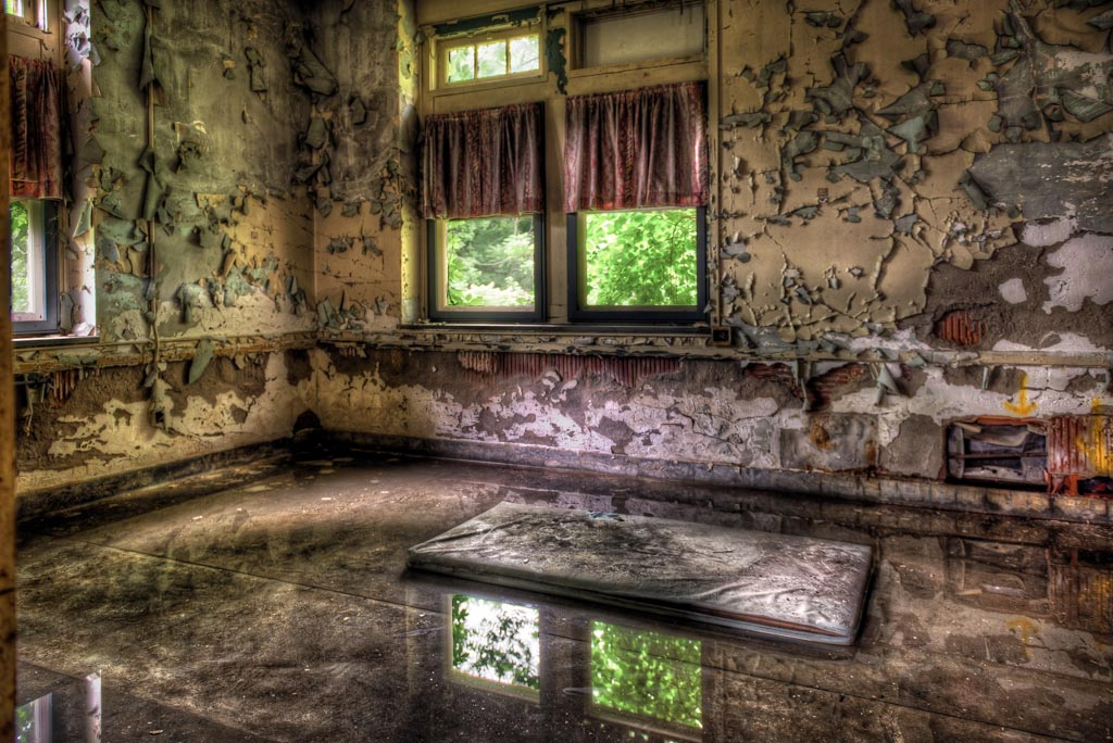 Pennhurst Asylum, Spring City, Pennsylvania