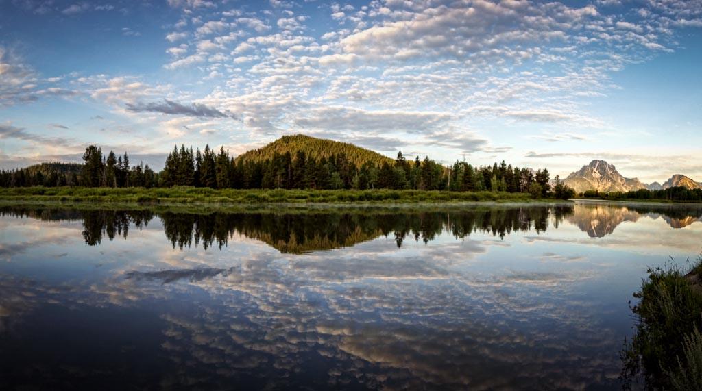 Oxbow Bend, Grand Teton National Park, Jackson Hole, Wyoming