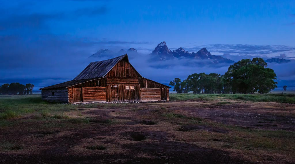 Thomas Moulton Barn, Grand Teton National Park, Wyoming
