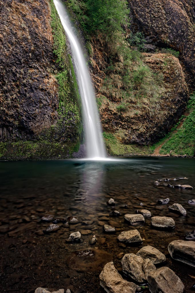 Horsetail Falls, Columbia River Gorge, Oregon