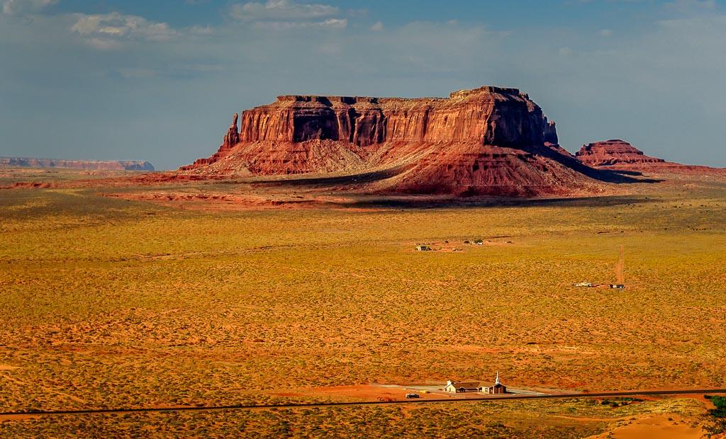 Sentinal Mesa, Monument Valley, Navajo Reservation, Utah/Arizona Border