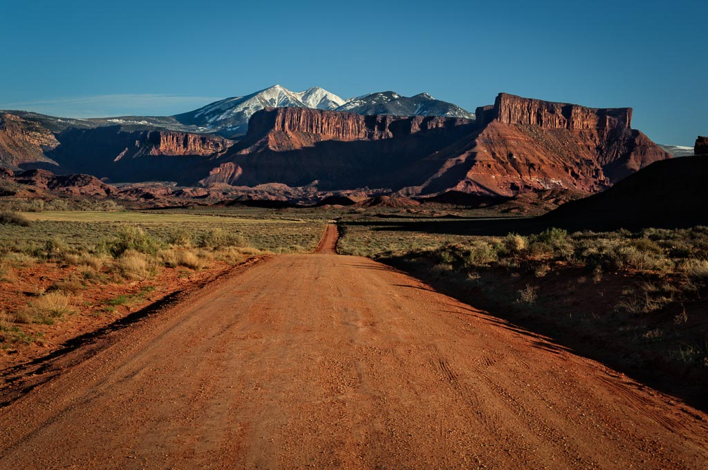 Castle Valley, Colorado River Scenic Byway, Moab, Utah