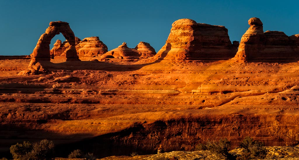 Delicate Arch Upper Viewpoint, Arches National Park, Moab, Utah
