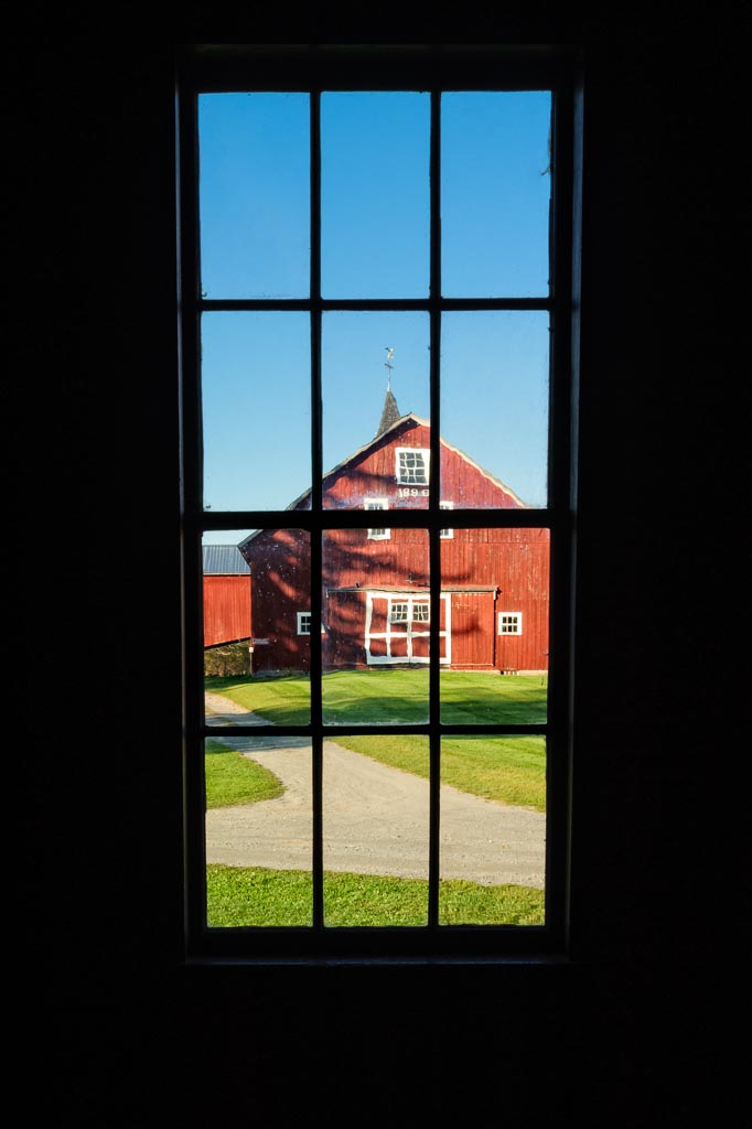 Looking Out the Barn Window