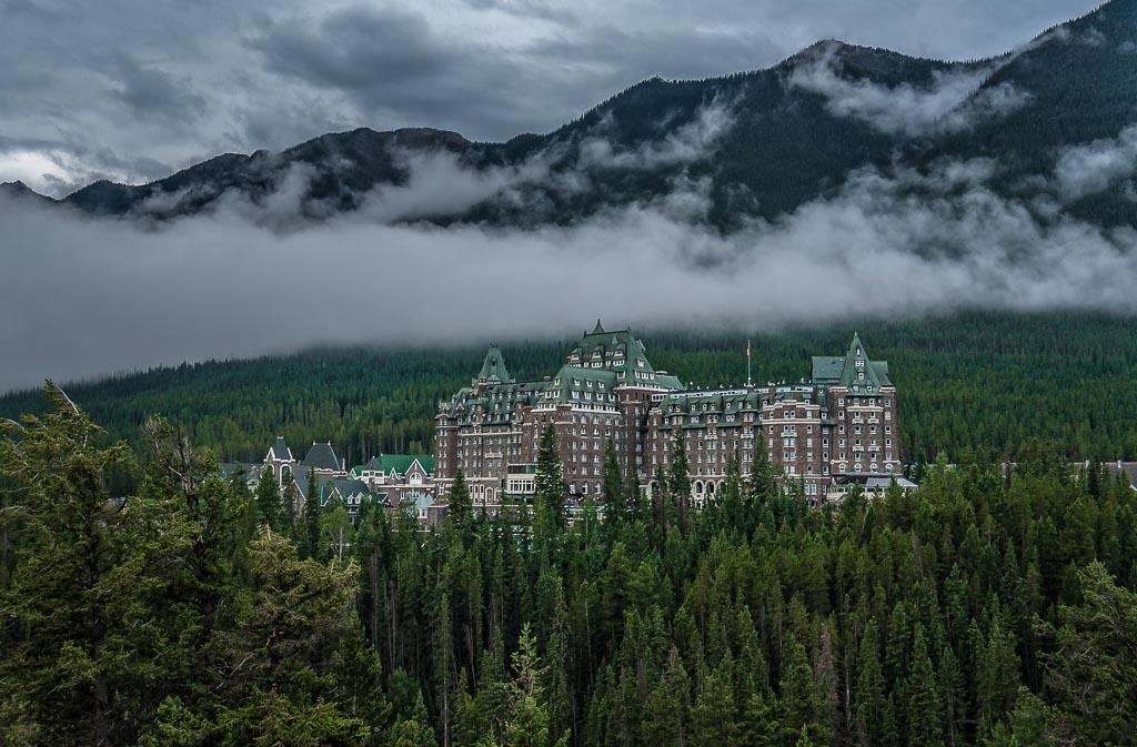 Banff Springs Hotel, Banff National Park, Alberta, Canada