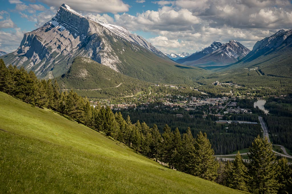 View from Mount Norquay, Banff National Park, Alberta, Canada