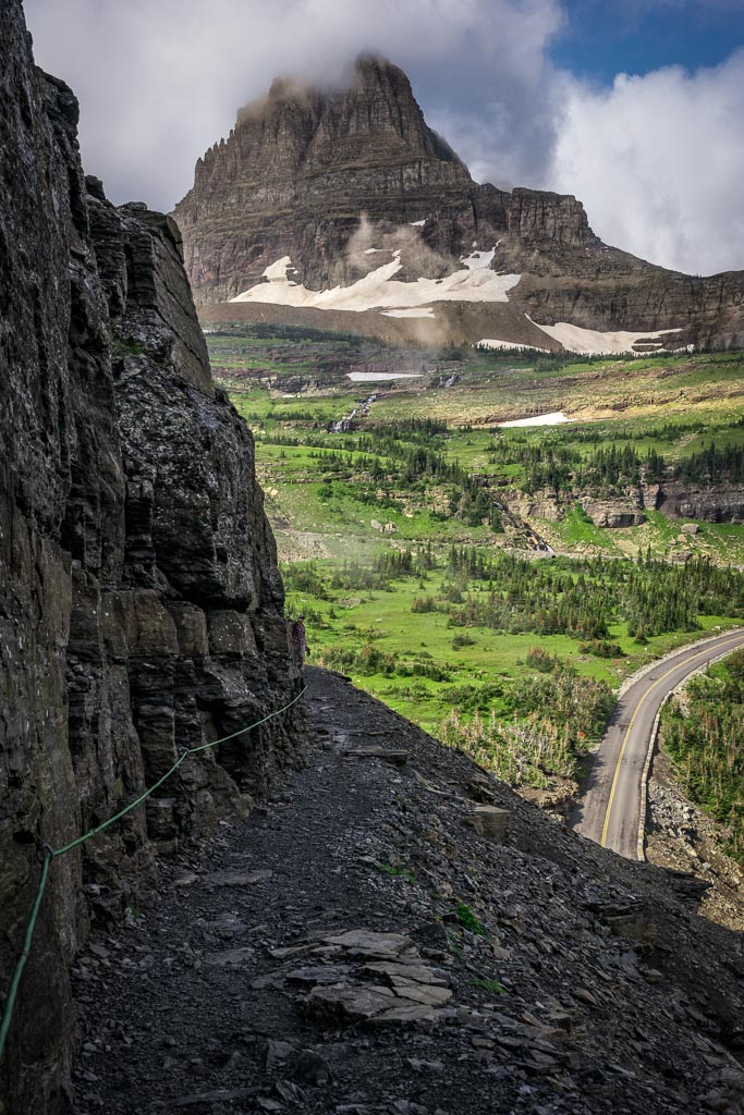 Highline Trail, Logan Pass, Glacier National Park, Montana