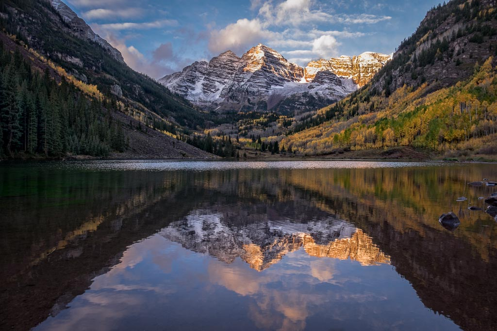 Glorious Maroon Bells