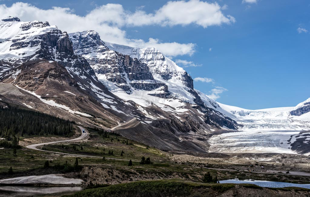 Columbia Icefields, Jasper National Park, Alberta
