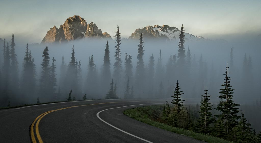 Paradise Road, Mount Rainier National Park, Washington