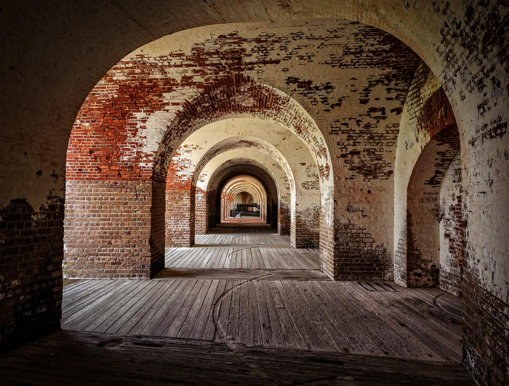 Fort Pulaski National Monument, Cockspur Island, Georgia