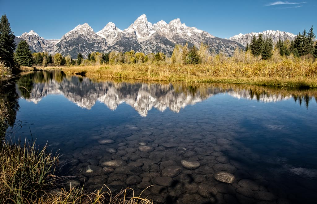 Upper Schwabachers Landing, Grand Teton National Park, Wyoming