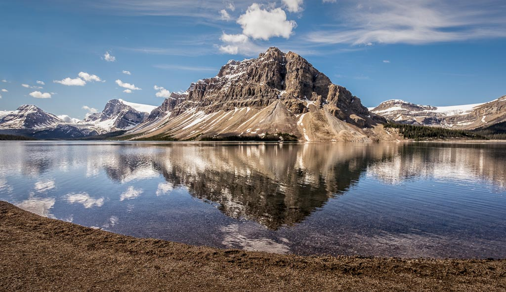 Bow Lake, Icefields Parkway, Banff National Park, Alberta