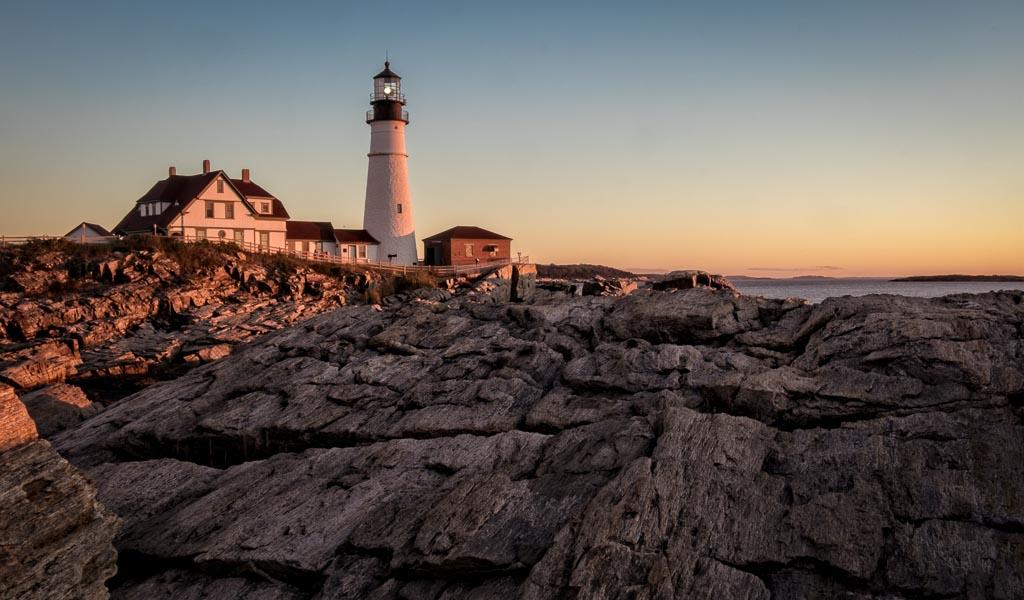 Portleand Head Light, Cape Elizabeth, Maine