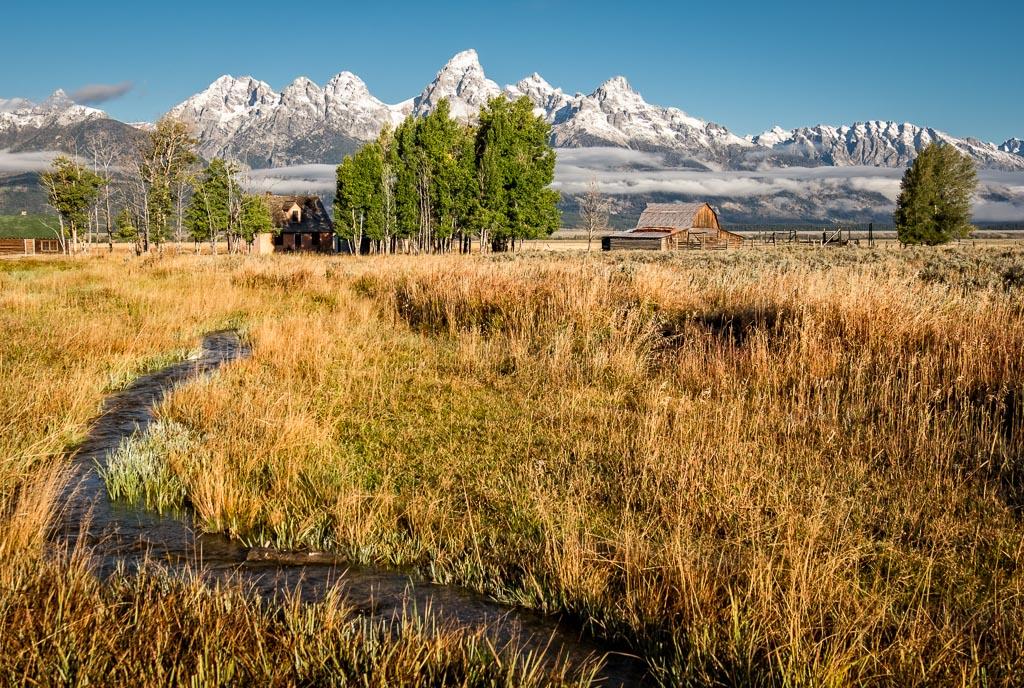 John Moulton Homestead, Grand Teton National Park, Wyoming