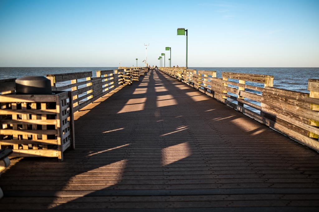 Morning at the Pier