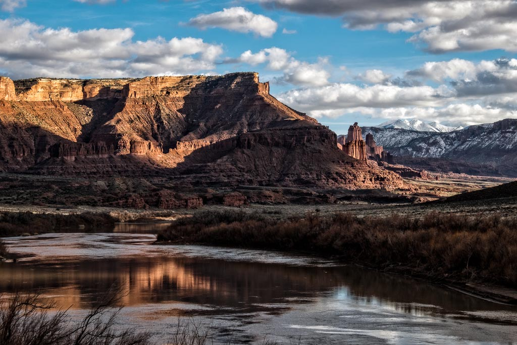 Fisher Towers View