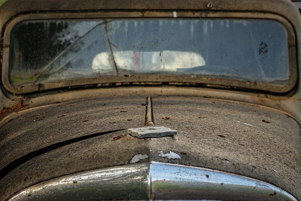 Antique Car Hood