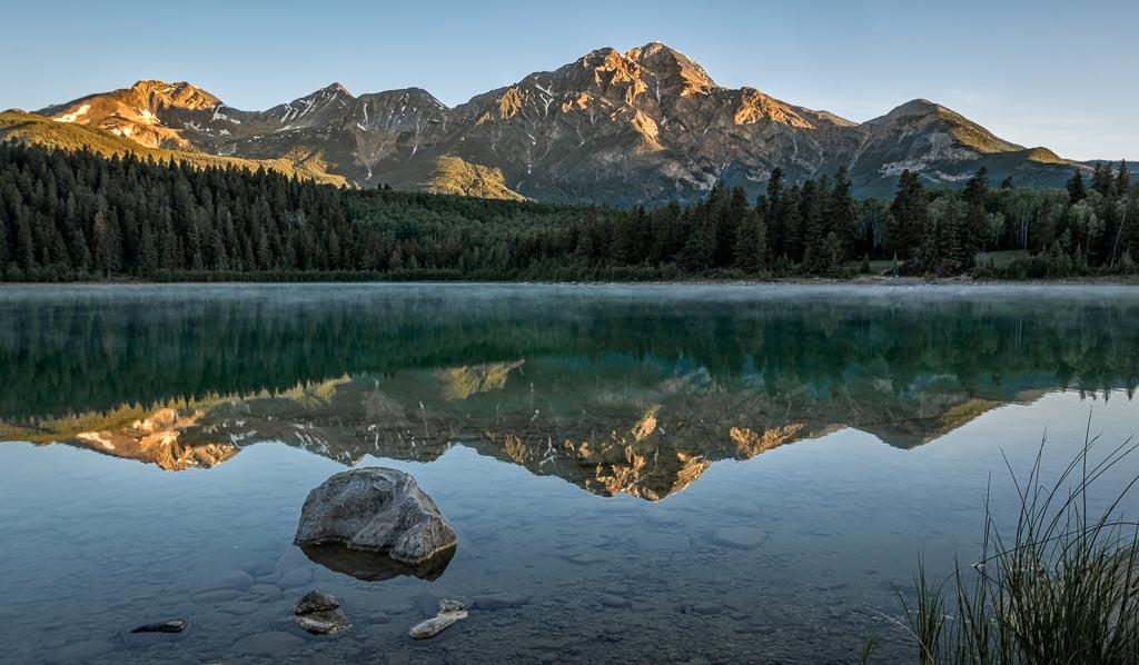 Pyramid Lake and Pyramid Mountain
