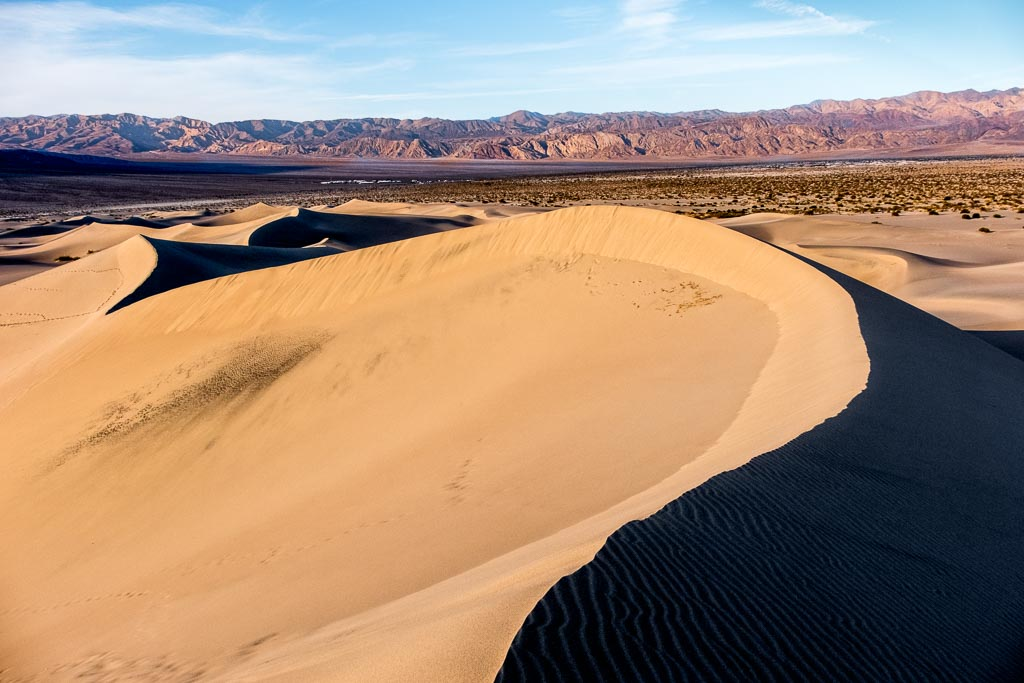 Mesquite Dunes, Death Valley National Park, California