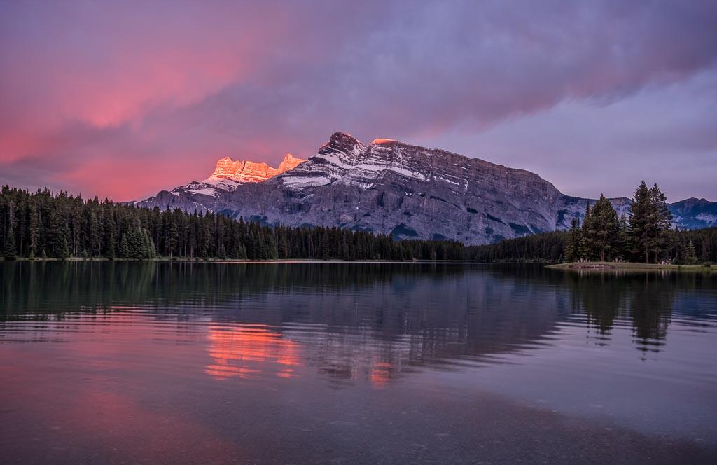 Glowing Mountaintop