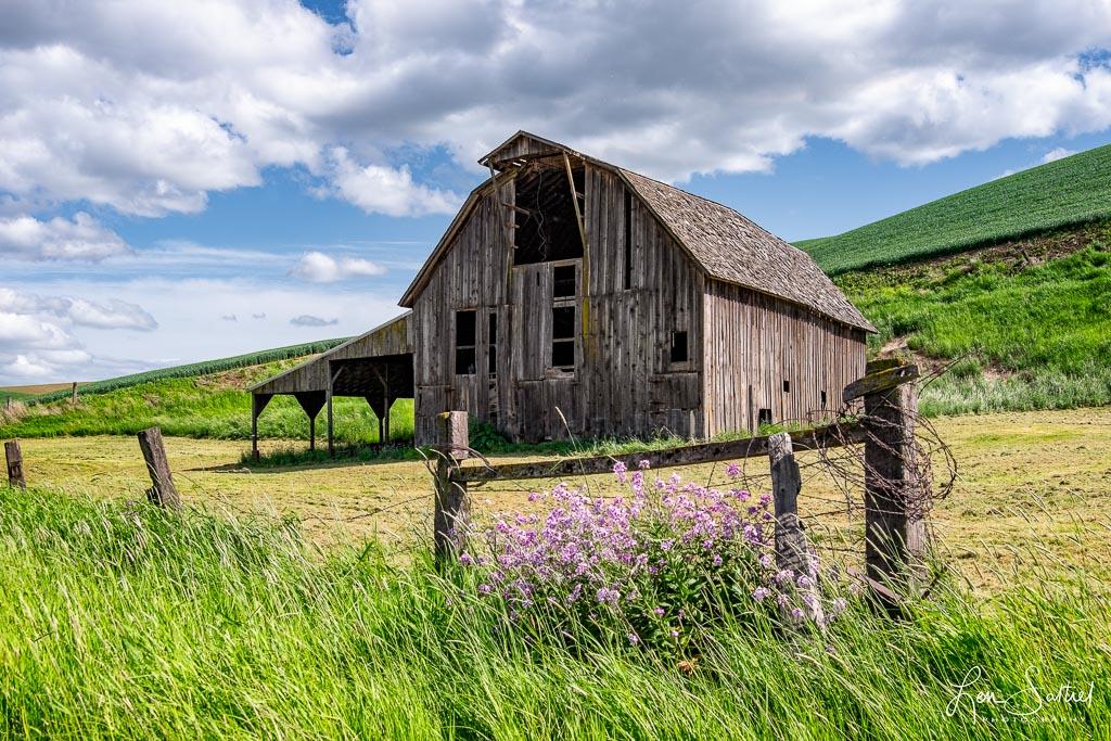 Disappearing Barns