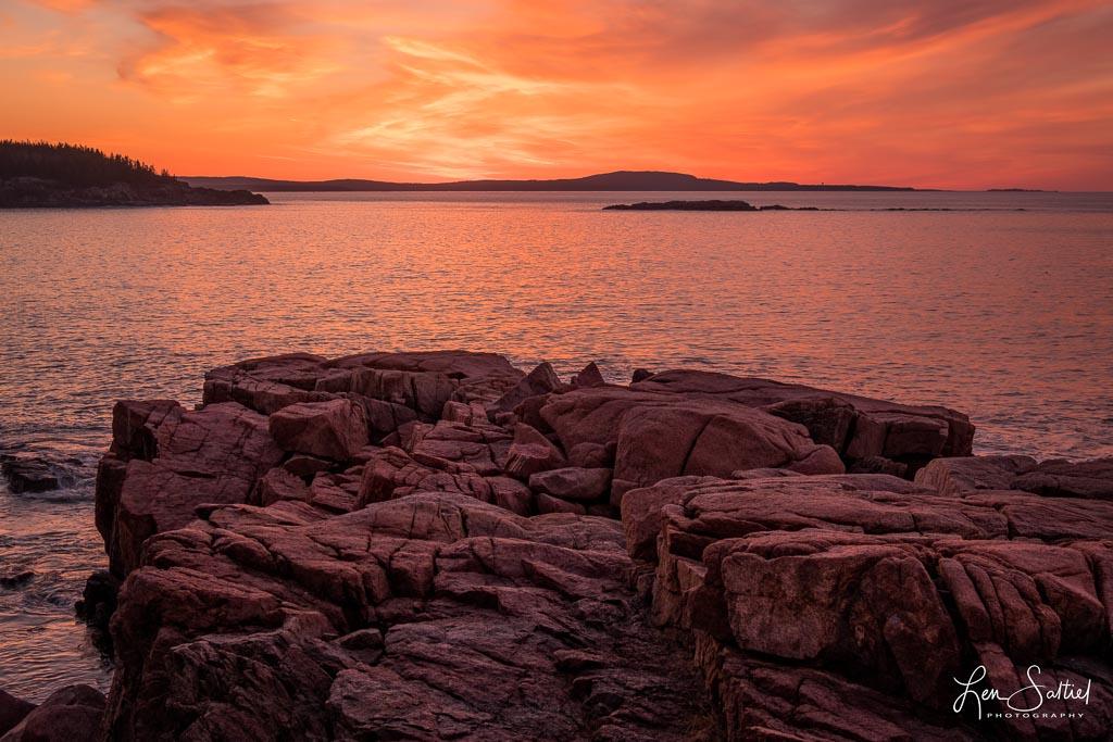 Sunrise at Acadia
