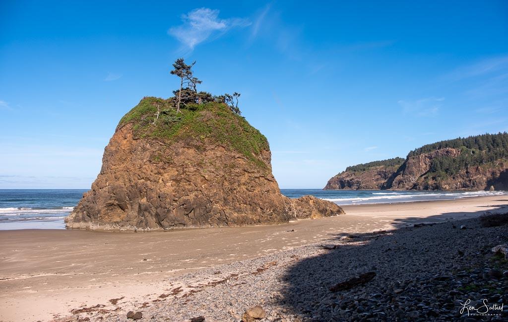 Secluded Beach Short Oceanside