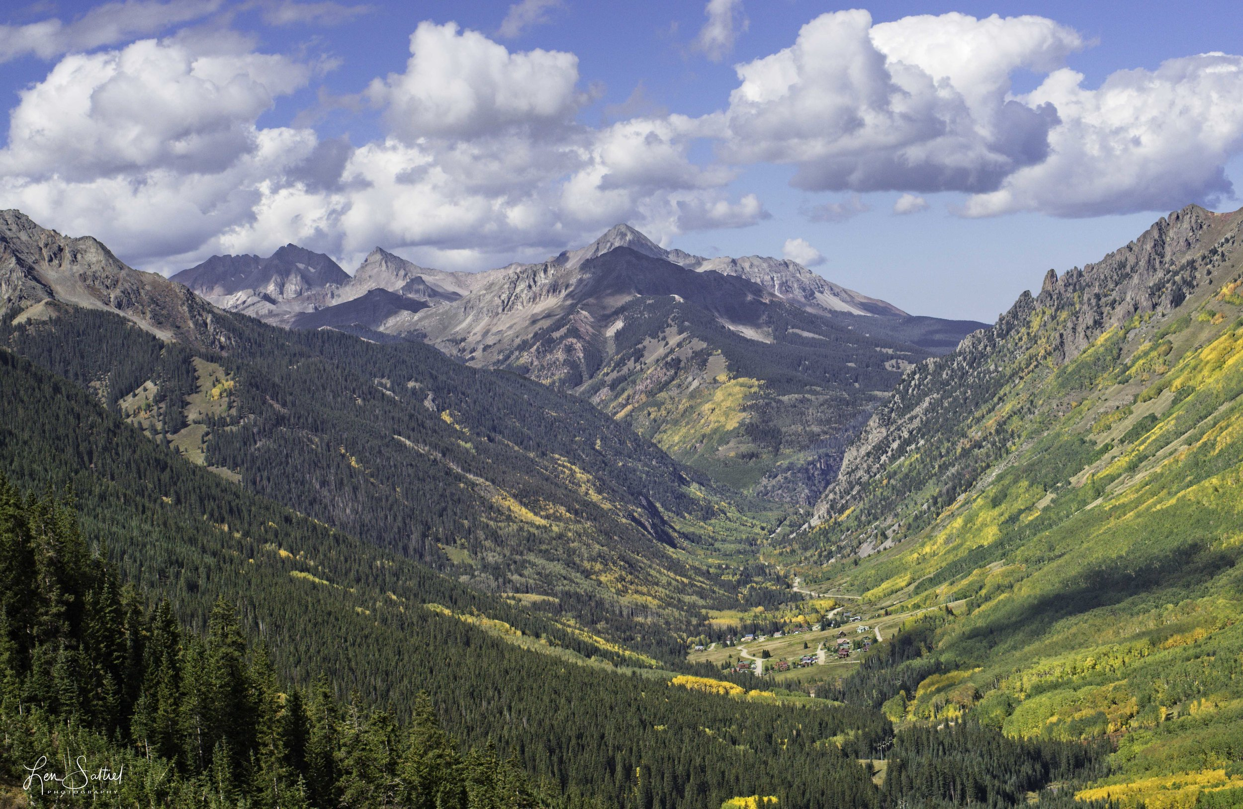 Valley of Color, Ophir Pass, Colorado