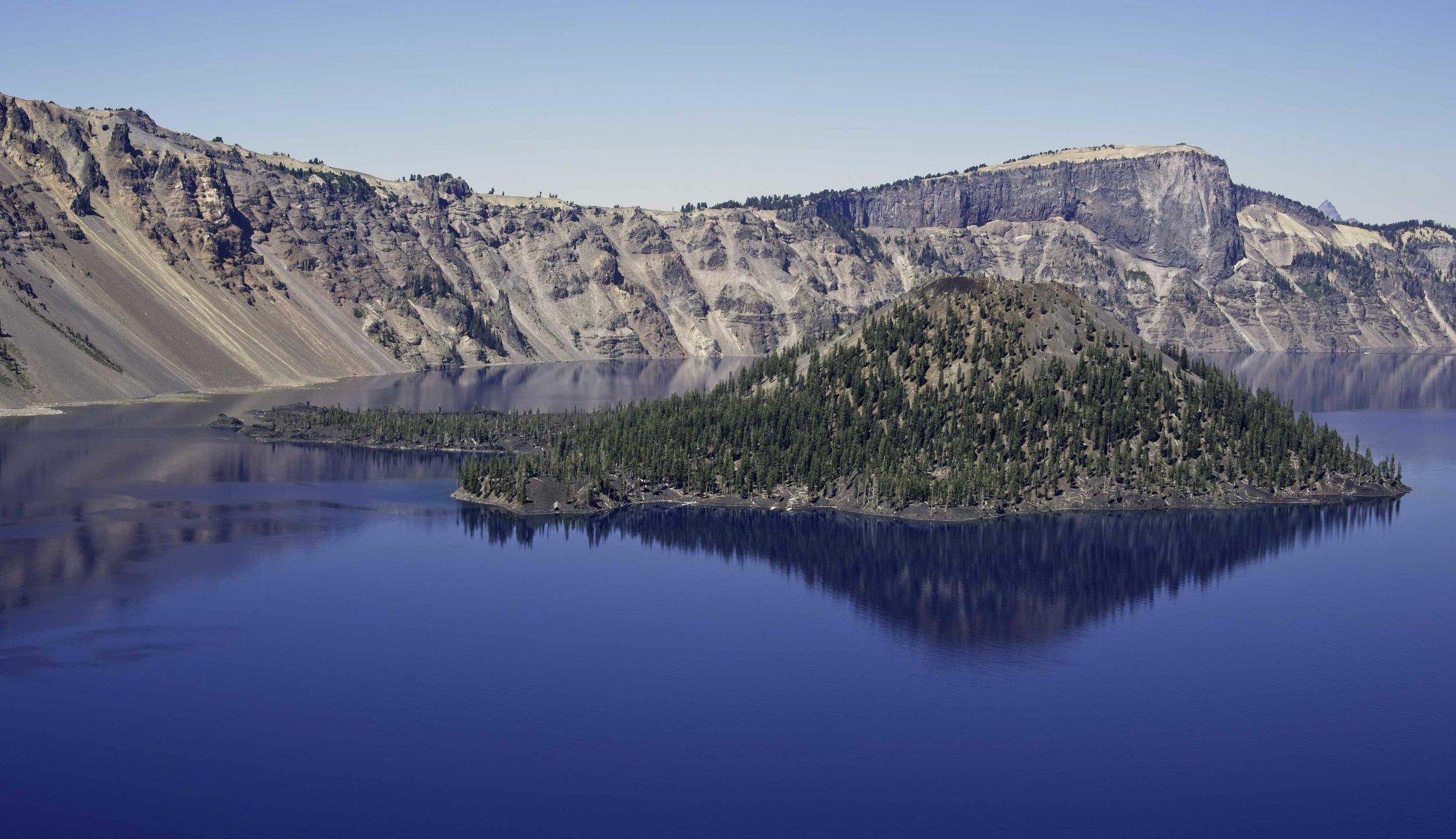 Crater Lake - Crater Lake National Park, Oregon