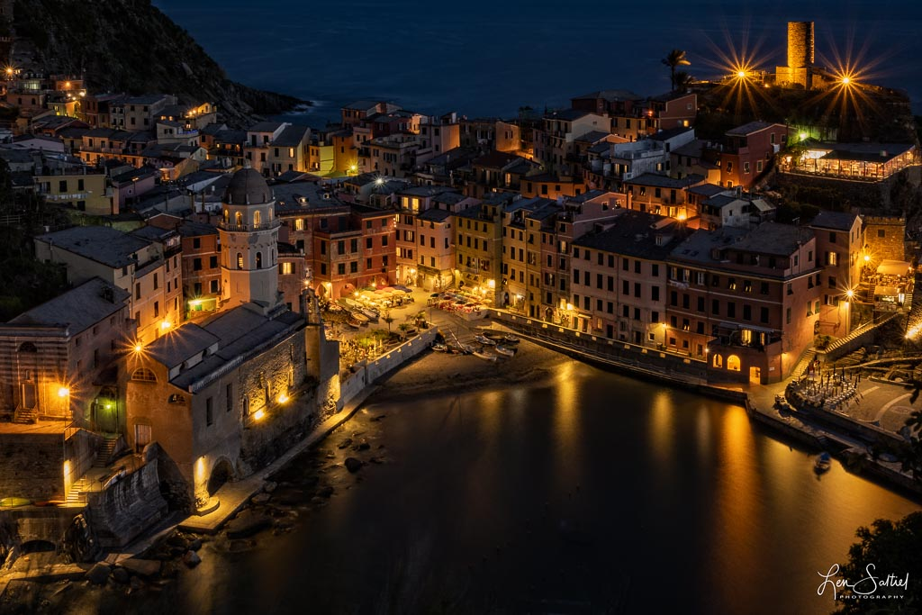 Vernazza Night