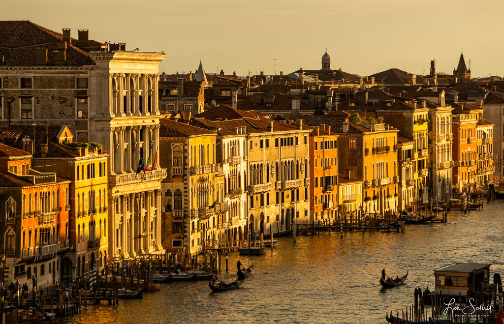 Above the Grand Canal