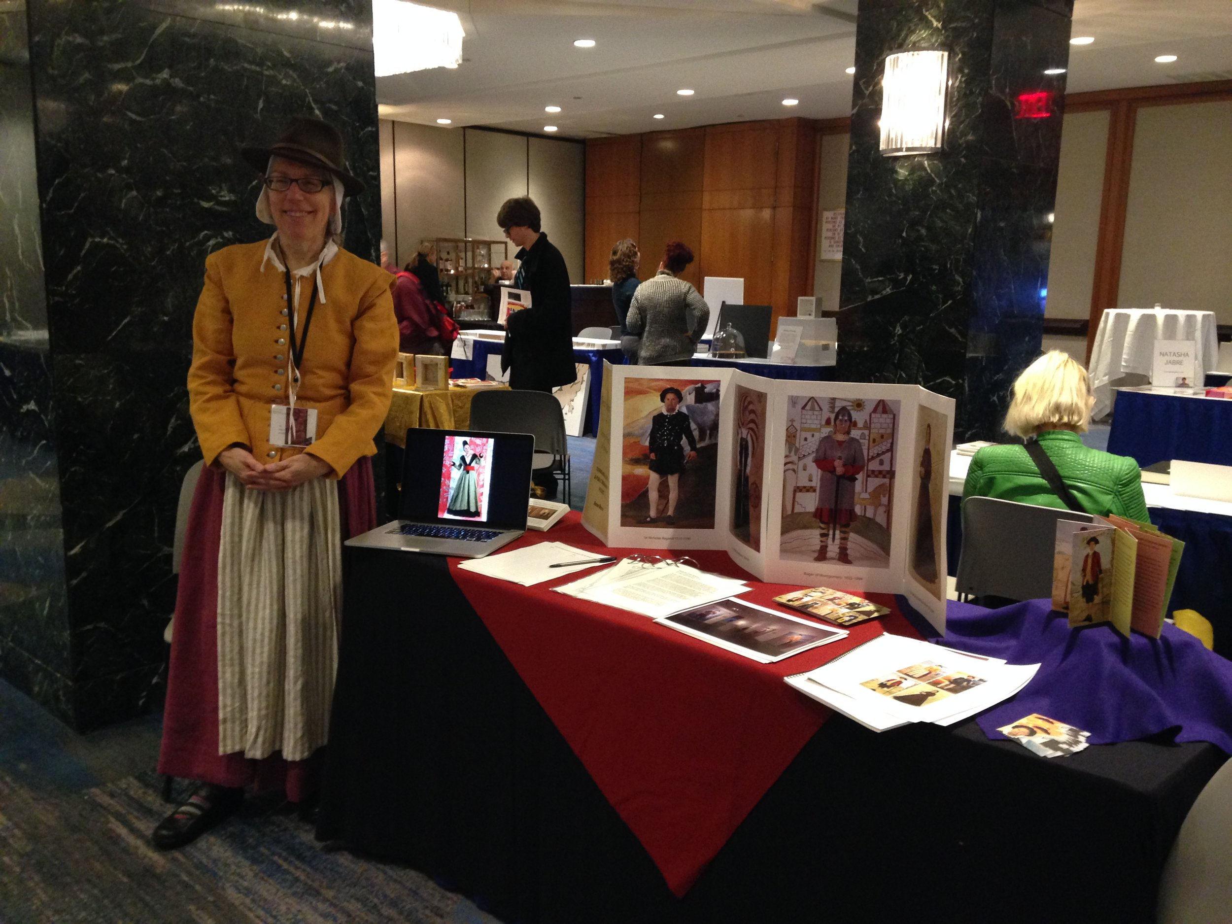 Ancestor Desire Howland Gorham at the CAA conference in February.
