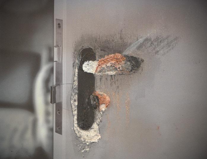 Dwg with Decay . Doorknob . 2011