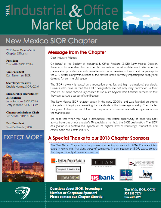 Download Market Update Brochure