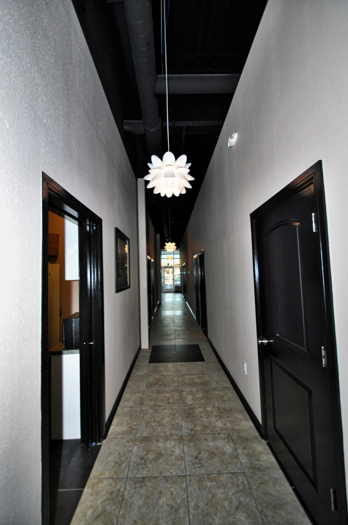 Lorenco's Interior - Hallway to Treatment Rooms