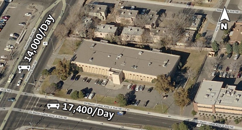 33,000 square foot office building located at 301 Dr. Martin Luther King Jr Blvd. Listed by Colliers International | Ransom-With Team.