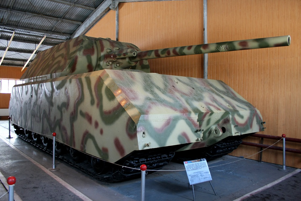The Maus, a totally impractical technological dead-end that never went beyong prototype