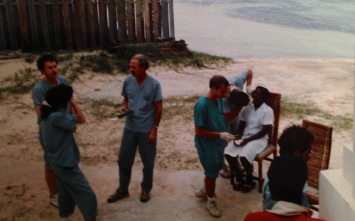 Ron Guttu and Mike Dishman oversee treatment at Silver Sands.
