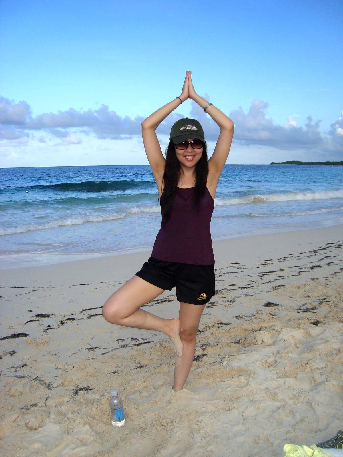 Lina On The Beach.JPG