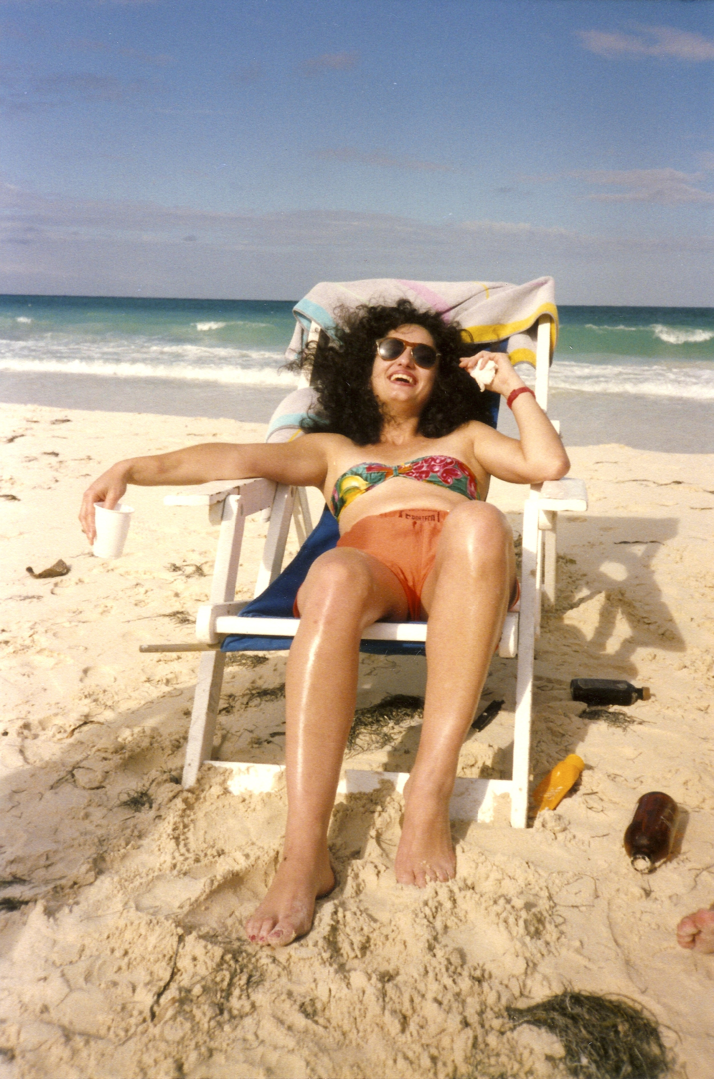 Farah On The Beach '90.jpg