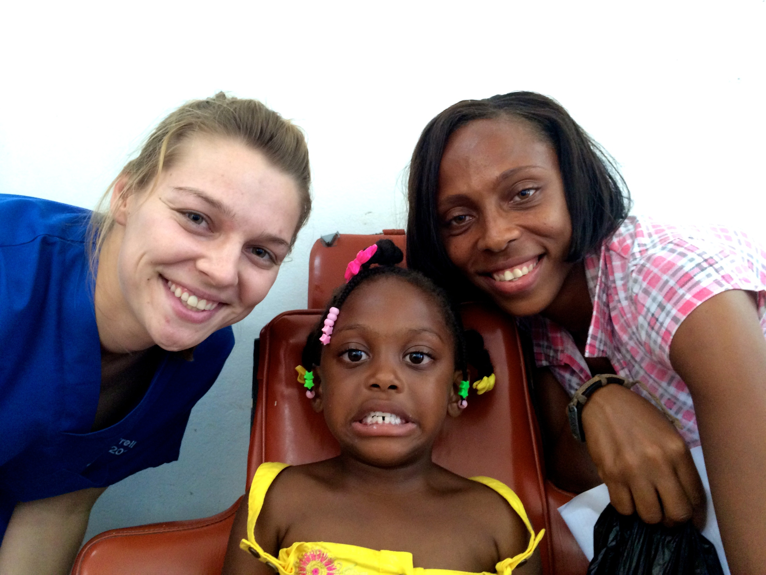 Another happy patient and parent at Long Pond Clinic October 2013,...