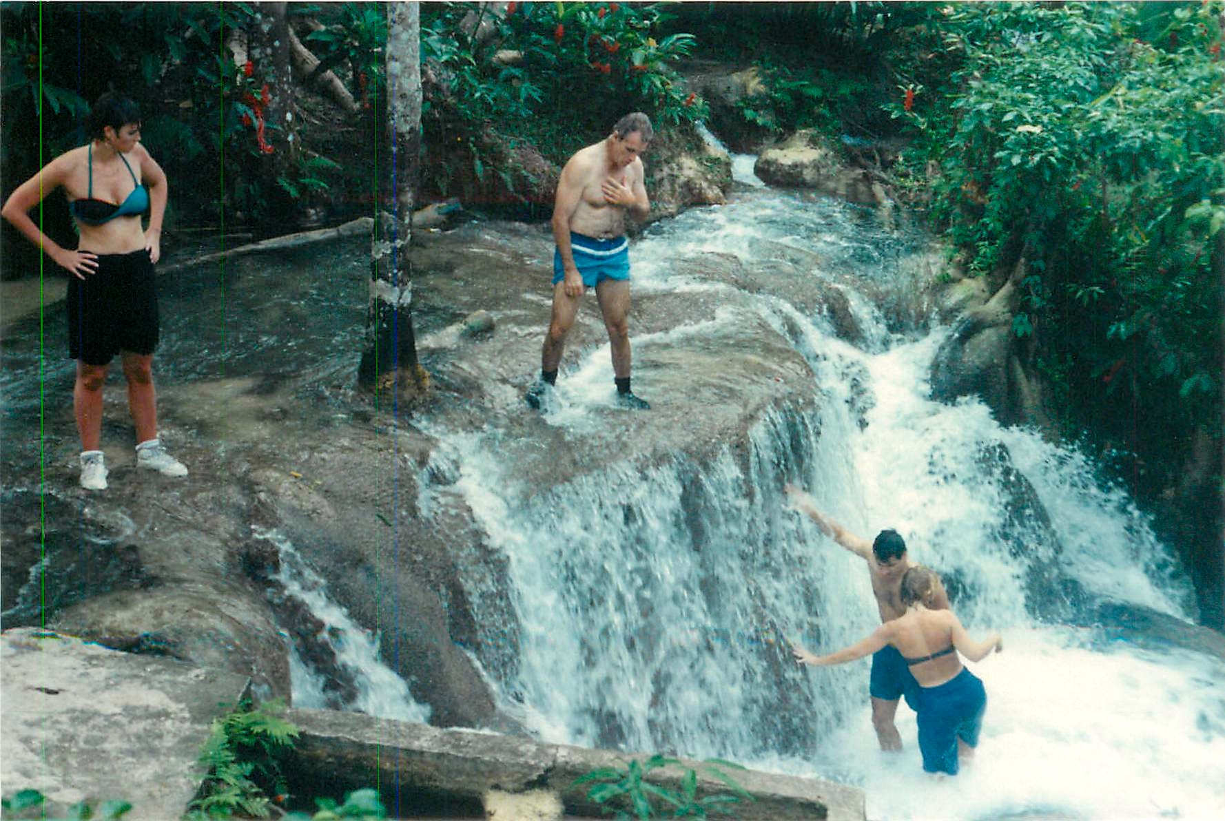 Bob & others Dunns River.jpg