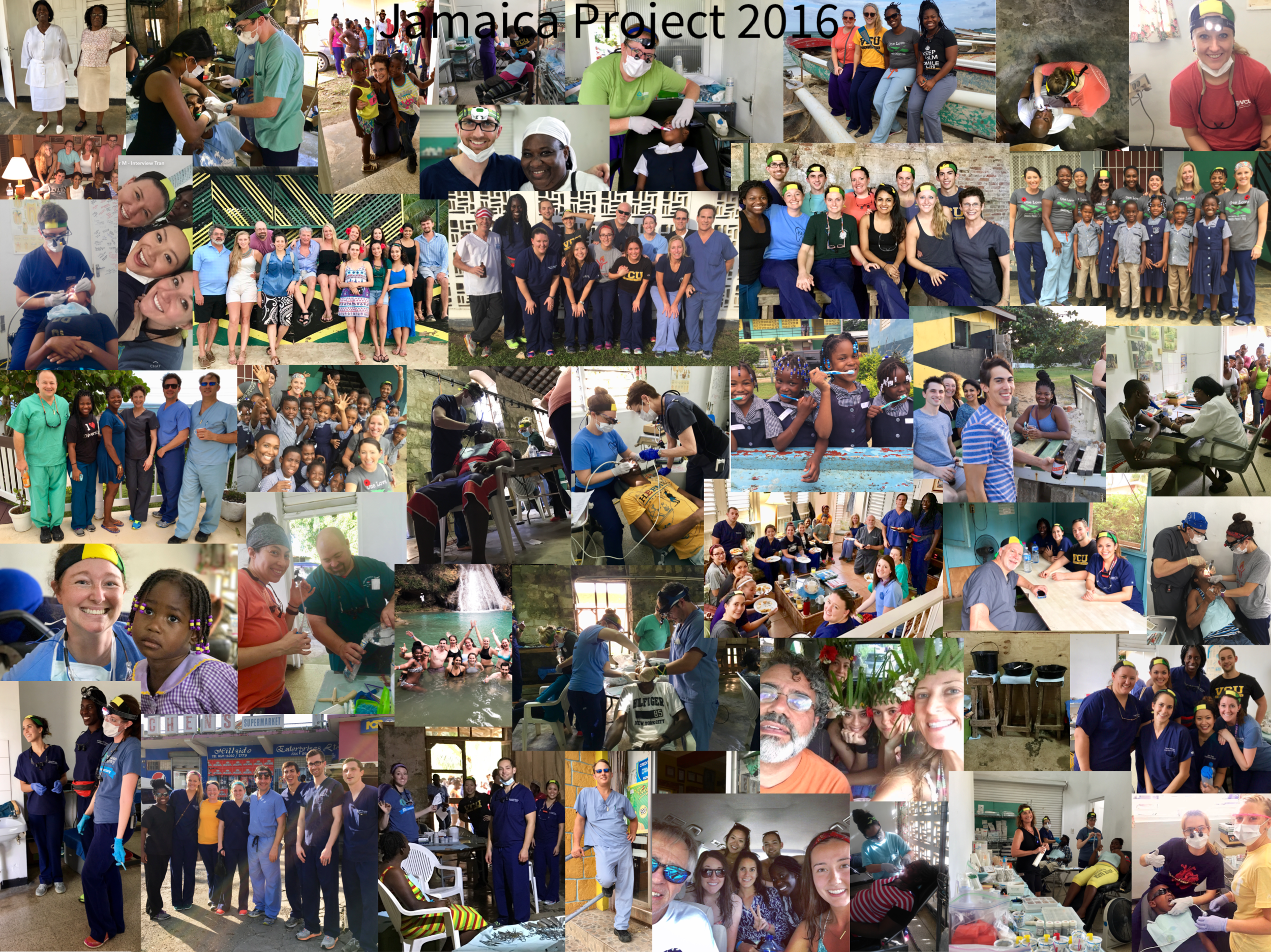 Jamaica Project 2016 Collage