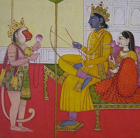 Hanuman worships Rama_Sita - Version 2.jpg