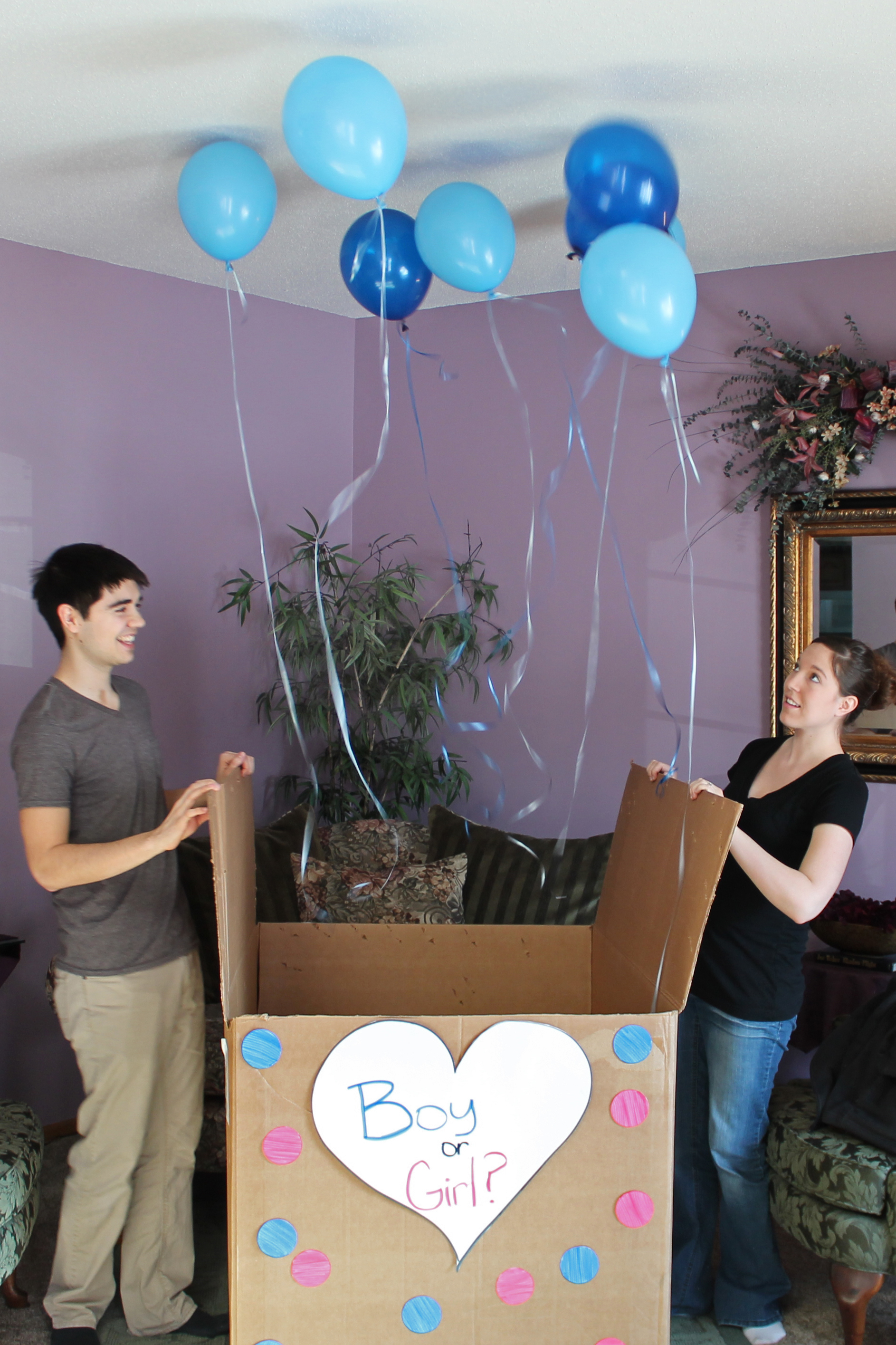 We're having a boy!