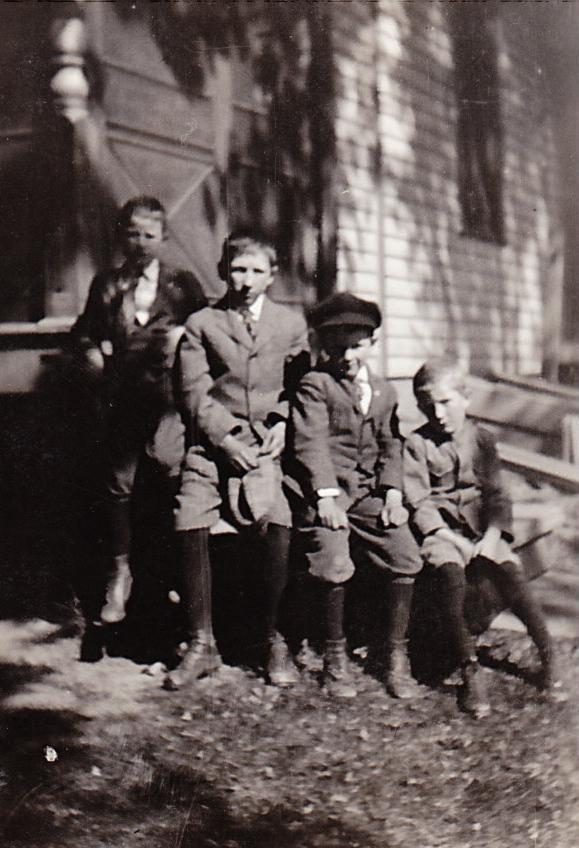 Glen Gibson, Ronald Briggs, LaVerne, George